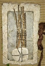 stick and stone, celtic spirit journal, handmade book, nature journal